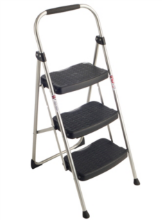 lightweight step ladder with handle