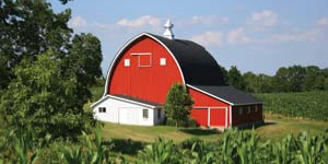 The Quintessential Red Barn