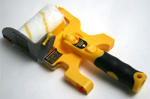 Accubrush XT Edger to save time cutting in at the corners and wall tops.  Not very durable.