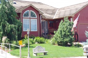My First Red House in Kennewick